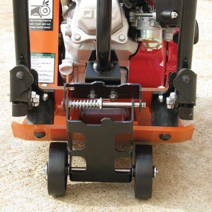Commercial Compactor Wheel : Mbw plate compactor gp ap wheel kit ebay