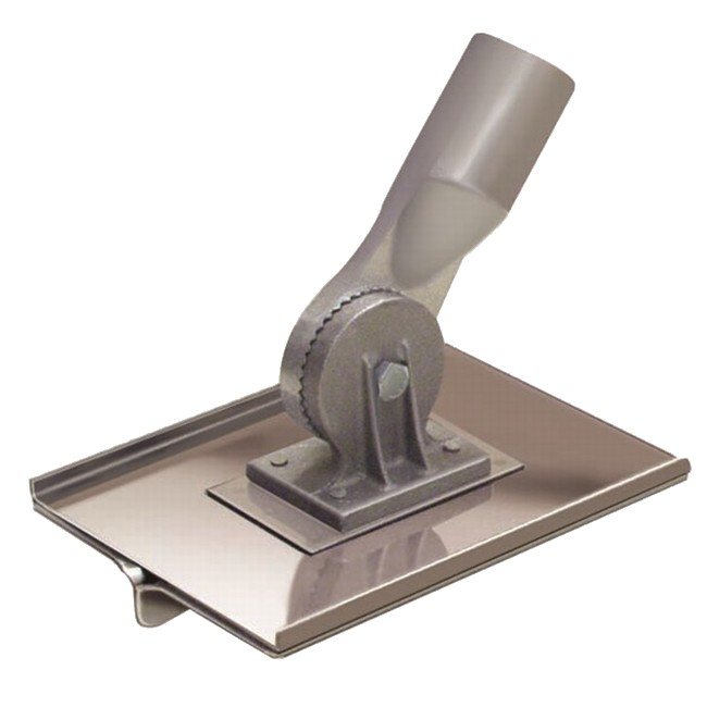 """8/"""" x 12/"""" 3//4/""""R 7//8/""""D Stainless Steel Walking Groover with Handle"""