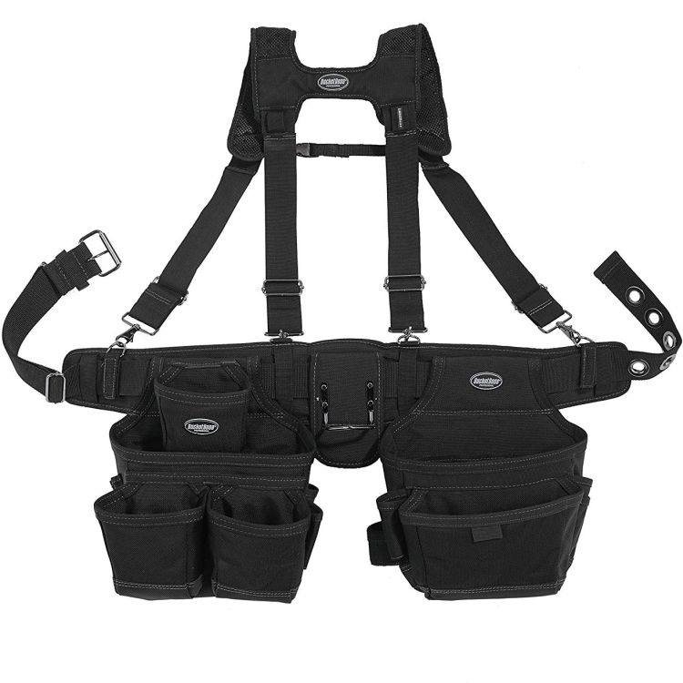 Bucket Boss Ballistic Suspension Tool Belt Rig