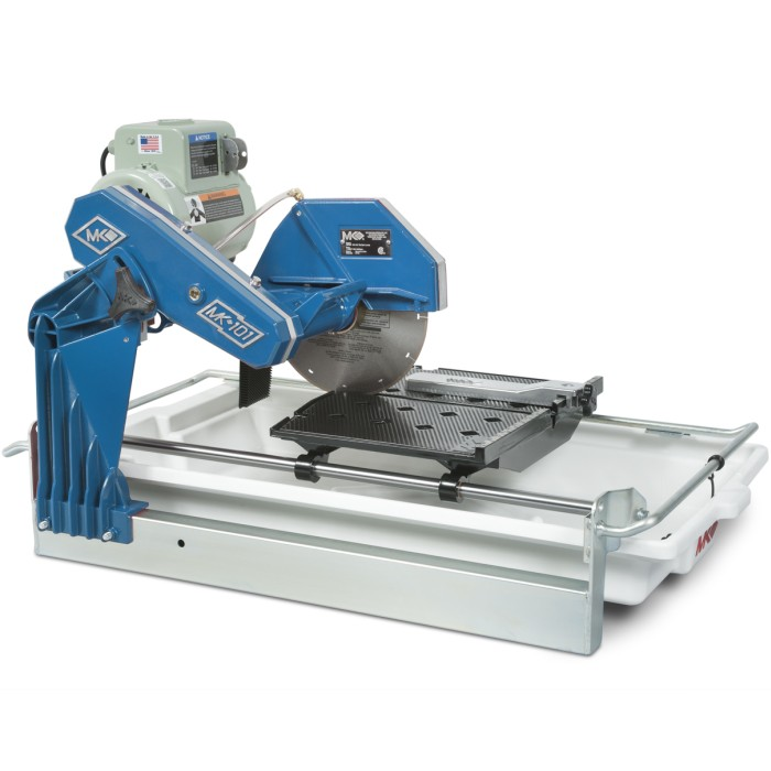 Mk Diamond Ceramic Tile Saw Mk101 Blue Moon Limited Edition