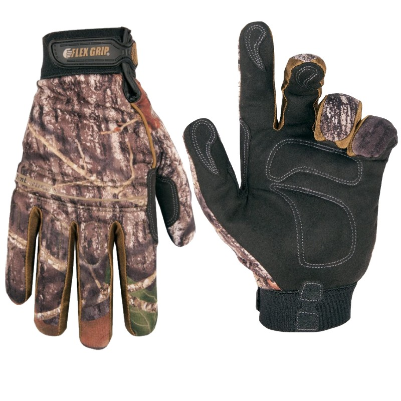 CLC Sportsman Mossy Oak ML125L Timberline Gloves Size Large