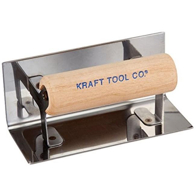 "Kraft Tool Elite Series Concrete Inside Step /& Corner Trowel 1//2/"" Radius"