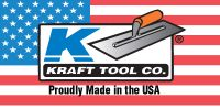 Kraft concrete hand tools. Made in the USA.