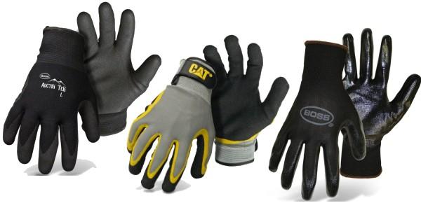 Boss Woman/'s Leather Roper Gloves Medium 20116
